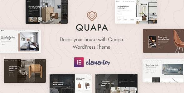 Quapa - Furniture WooCommerce WordPress Theme - WooCommerce eCommerce