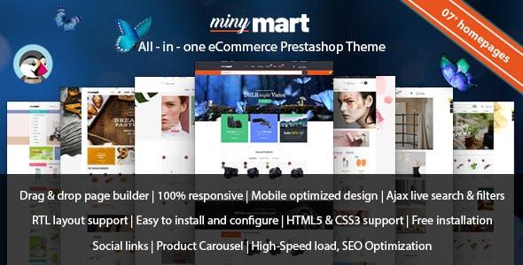 Leo Minymart - All-in-one eCommerce Prestashop Theme