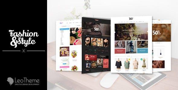 Leo Fashion Store PrestaShop Theme 1.6 & 1.7 for Clothing & Unisex Fashion