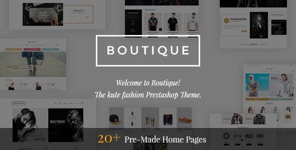 Boutique - Kute Responsive Prestashop 1.7 Theme - Fashion PrestaShop
