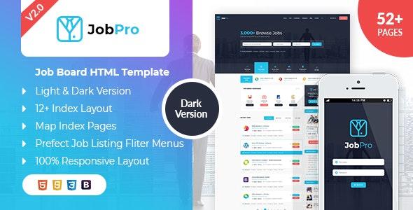 Job Pro - Job Board HTML Template - Business Corporate