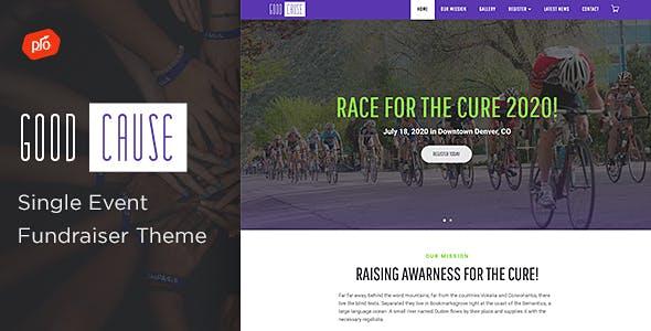 Good Cause - A Single Event Fundraiser Theme