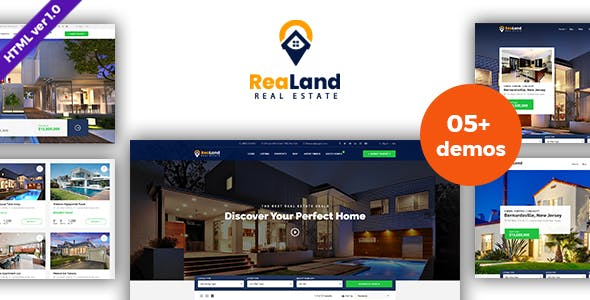 ReaLand - Real Estate HTML Template