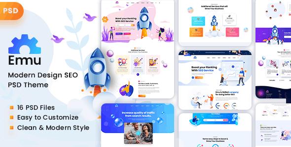 Emu - SEO Digital Marketing Agency - Marketing Corporate