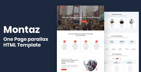 Montaz - One Page Parallax by themes_master