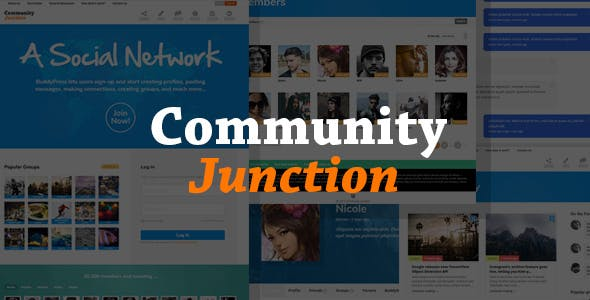 Download CommunityJunction - BuddyPress Membership Theme