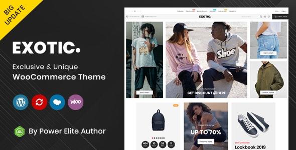Exotic - Responsive WooCommerce Theme - WooCommerce eCommerce