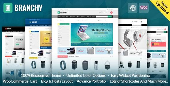 Branchy - WooCommerce Responsive Theme - WooCommerce eCommerce