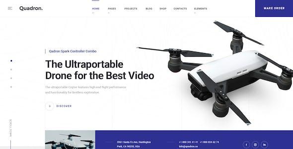 Quadron | Drone UAV Business & Videography HTML Template