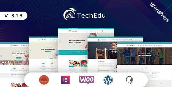 TechEdu – Education WordPress Theme - Education WordPress