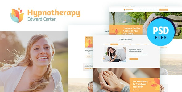 Carter | Psychologist Therapy PSD Template - Health & Beauty Retail
