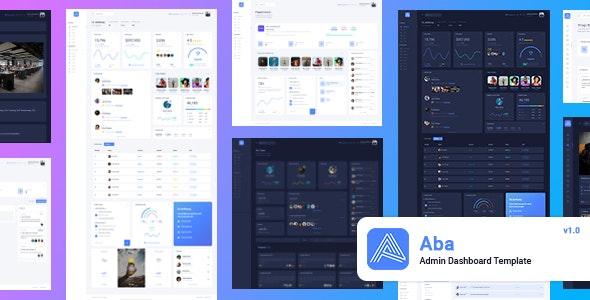 Aba - Responsive Bootstrap 4 Admin Template - Admin Templates Site Templates