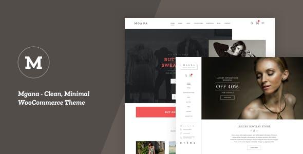 Mgana - Clean, Minimal WooCommerce Theme
