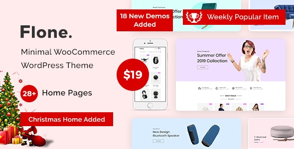 Flone – Minimal WooCommerce WordPress Theme
