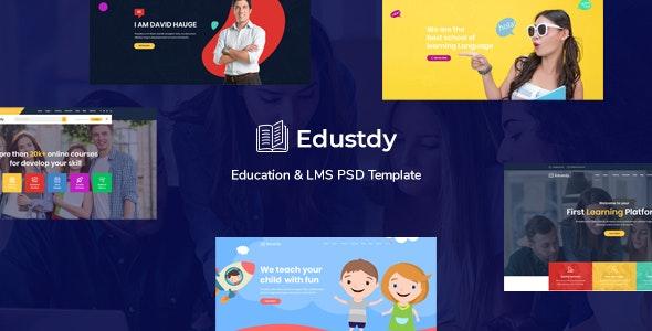 Edustdy - Education PSD Template - Miscellaneous PSD Templates