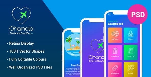 Ohamola Travel App - Travel Retail