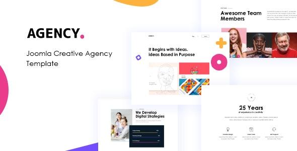 JD Agency - Creative Agency Joomla Template - Joomla CMS Themes
