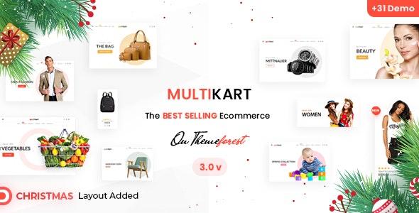 Multikart - eCommerce HTML + Admin Template - Shopping Retail
