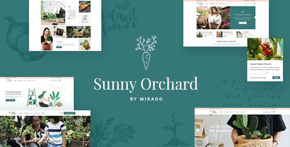 SunnyOrchard Theme Preview