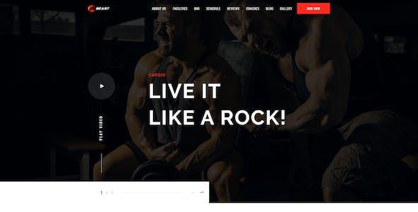Beast-Responsive Gym HTML Template