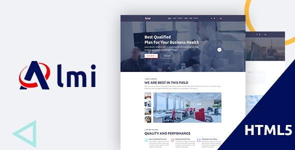 Almi - Business HTML5 Template - Business Corporate