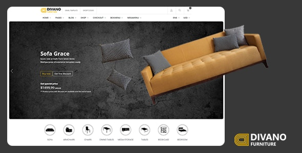 Divano - Furniture HTML Template - Retail Site Templates