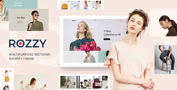Rozzy - Multipurpose Shopify Sections Theme - Shopify eCommerce