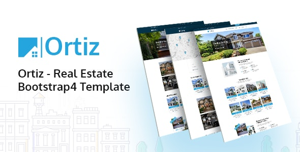 Ortiz - Real Estate HTML5 Template - Business Corporate