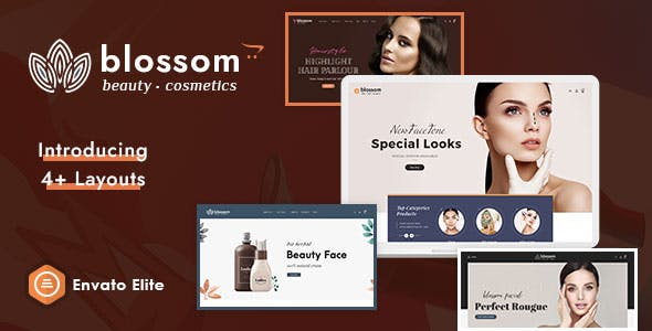 Blossom - Beauty Cosmetics Opencart Multi-Purpose Responsive Theme