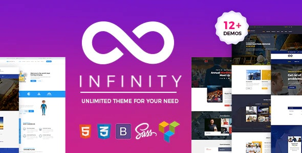 Infinity - One Page - Business Corporate