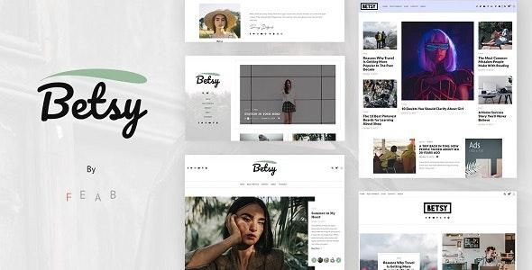 Betsy - A Clean WordPress Blog Theme - Blog / Magazine WordPress