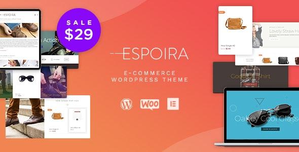 Espoira - eCommerce WordPress Theme - WooCommerce eCommerce