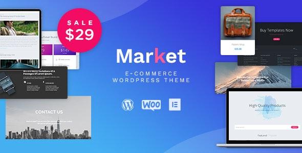 Market - Online Store WooCommerce WordPress Theme - WooCommerce eCommerce