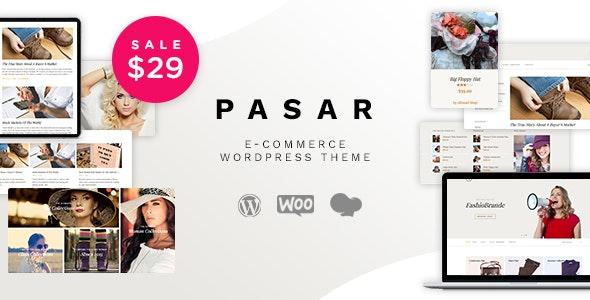 Pasar - eCommerce and Marketplace WordPress Theme - WooCommerce eCommerce