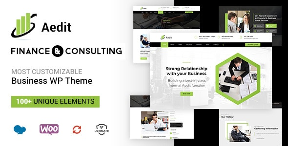 Aedit - Consultancy WordPress - Business Corporate