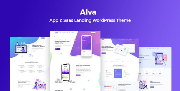 Download Alva- WordPress Theme For Saas Product