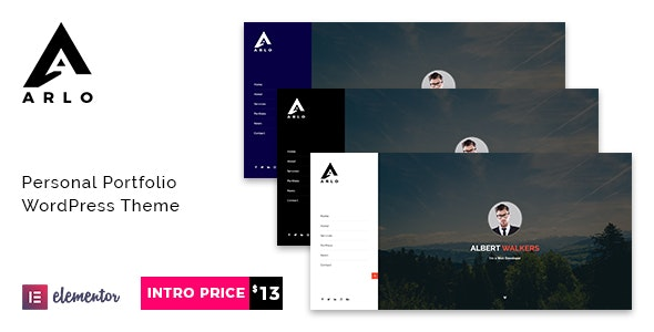 Arlo | Portfolio WordPress Theme - Portfolio Creative