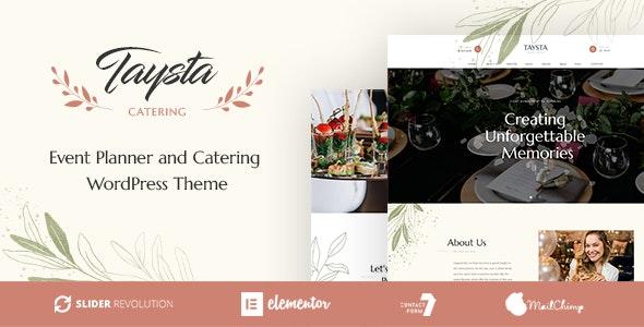 Taysta - Wedding Event Planning WordPress Theme - Wedding WordPress