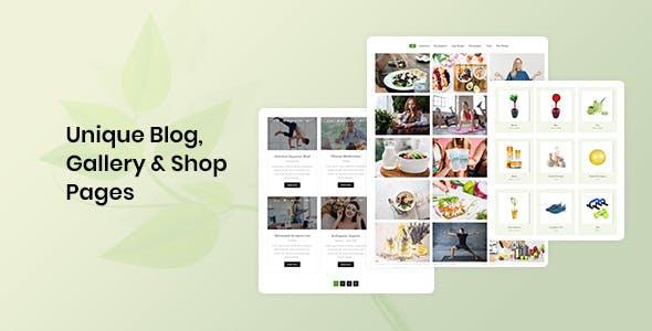 Aarogya   Dietitian, Weight Loss and Nutrition WordPress Theme