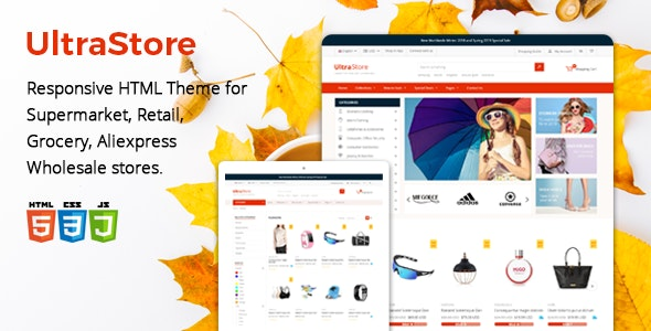Ultrastore - Supermarket and Retail HTML Template - Shopping Retail