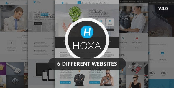 Hoxa - Responsive Multipurpose Joomla Template - Corporate Joomla