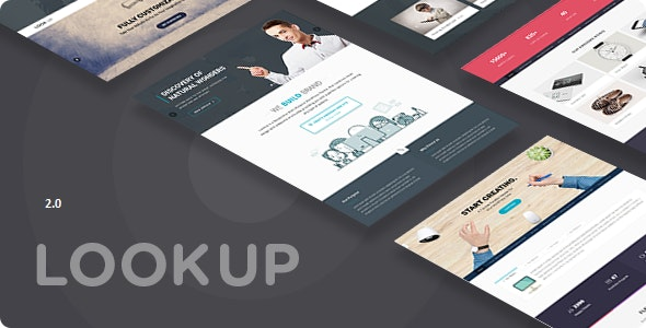 Lookup - Multi Purpose Drupal 8.8 theme - Drupal CMS Themes