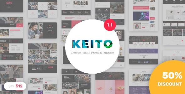 Keito - Creative Multipurpose Portfolio Template - Portfolio Creative