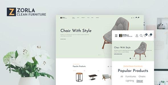 Zorla - Furniture Home Decor - PrestaShop eCommerce