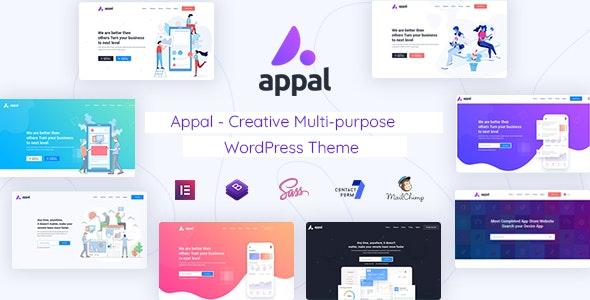 Appal - Creative Multi-purpose WordPress Theme - Technology WordPress