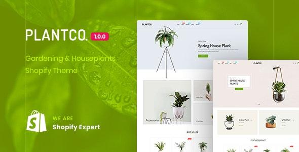 PLANTCO - Gardening & Houseplants Shopify Theme - Shopify eCommerce