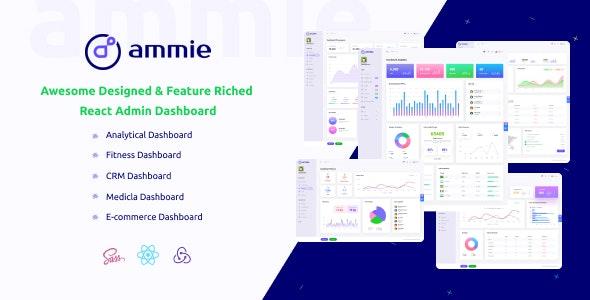 Ammie - React Admin Template - Admin Templates Site Templates