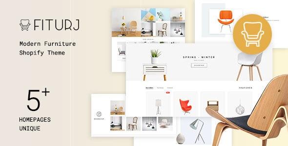 Fiturj - Modern Furniture Shopify Theme - Shopify eCommerce