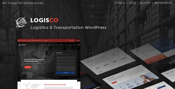 Logisco - Logistics & Transportation WordPress - Business Corporate