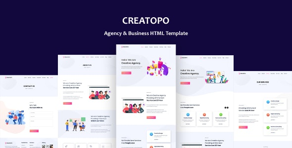 Creatopo - Agency and Business HTML5 Template - Business Corporate